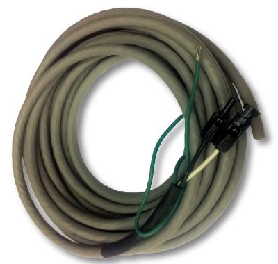 MC4 #10-3 Wire Marine Solar Panel Cable (20\'- 60\') w Ground - e RV