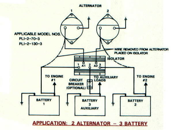 battery isolators e rv rh ervsolar com RV Battery Isolator Wiring-Diagram Dual Battery System Wiring Diagram